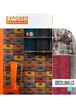 Купить виниловые обои коллекция Exposed Warehouse